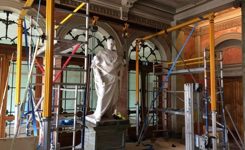 oscar återkommer först 2018 efter en renovering av lokalen