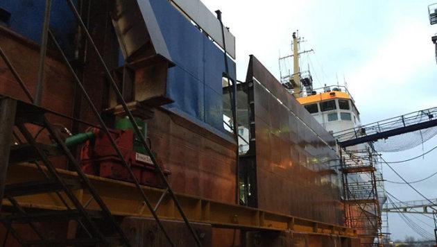 lansering av fartyg i landskrona