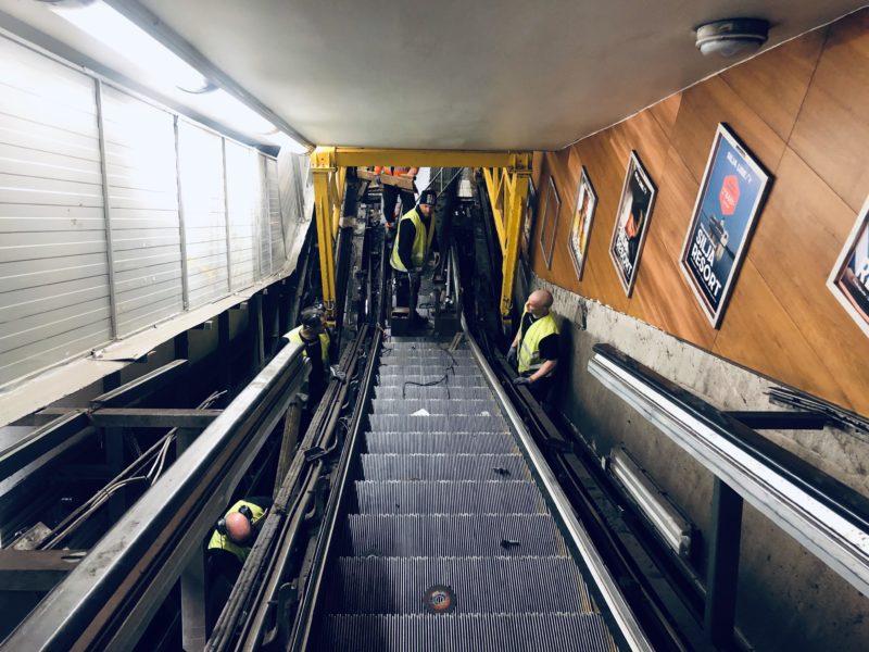 rulltrappa t-centralen